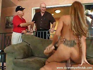 best of Busty wife watching