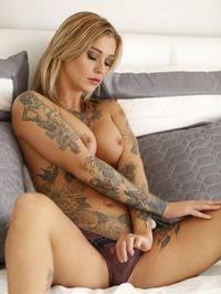 best of Valentien kleio tattooed babe