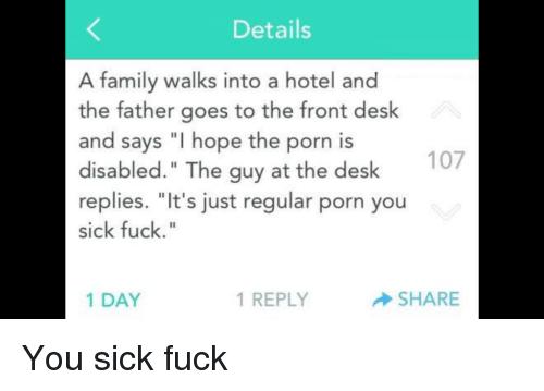 Sparkplug reccomend hotel front desk