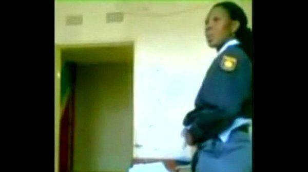 Police woman amateur