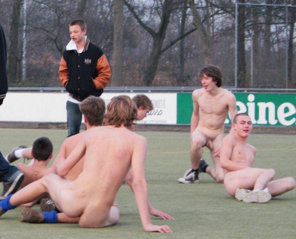 Nudist boy initian