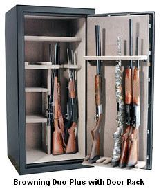 Gun safe penetration