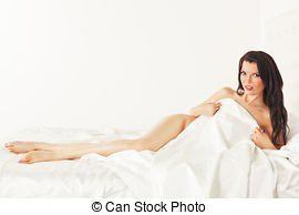 best of In bedsheets women Nude