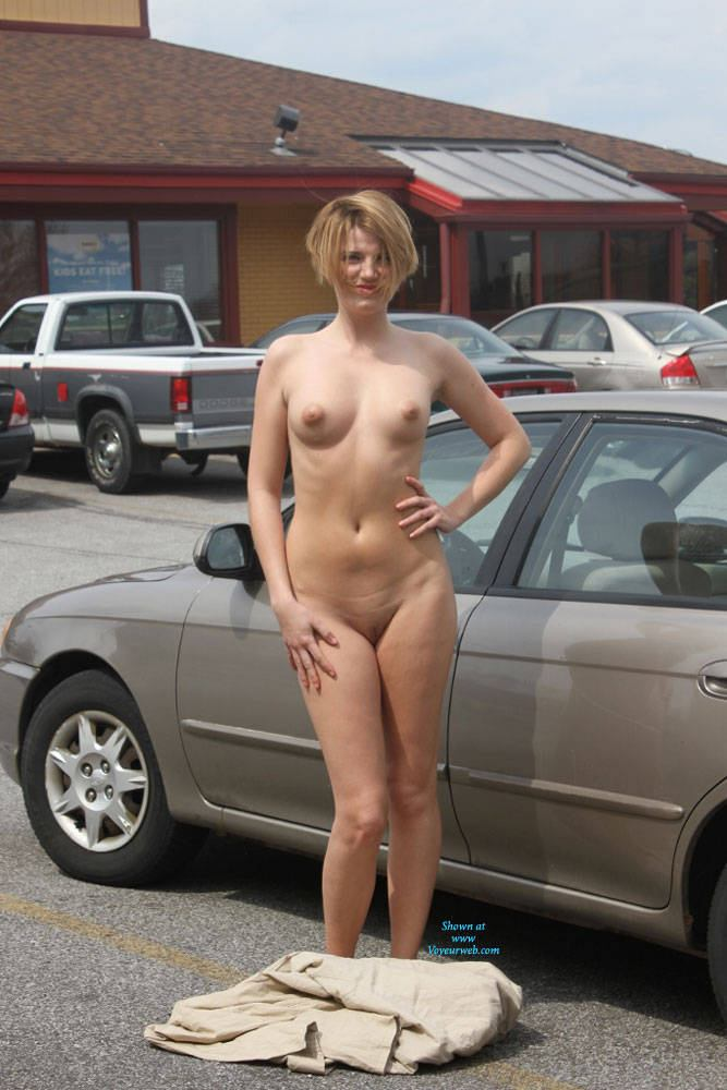 Daring nude public photos