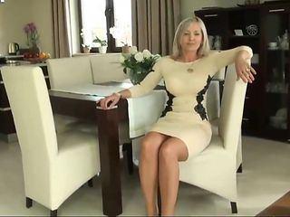 Champ reccomend Mature milf legs stockings handjob videos