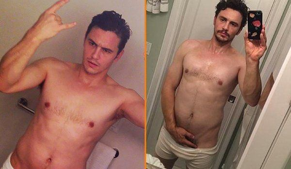 James franco nude shower