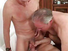 Chuckles reccomend Bisexual older mmf cum