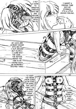 Self bondage anime 8 Women