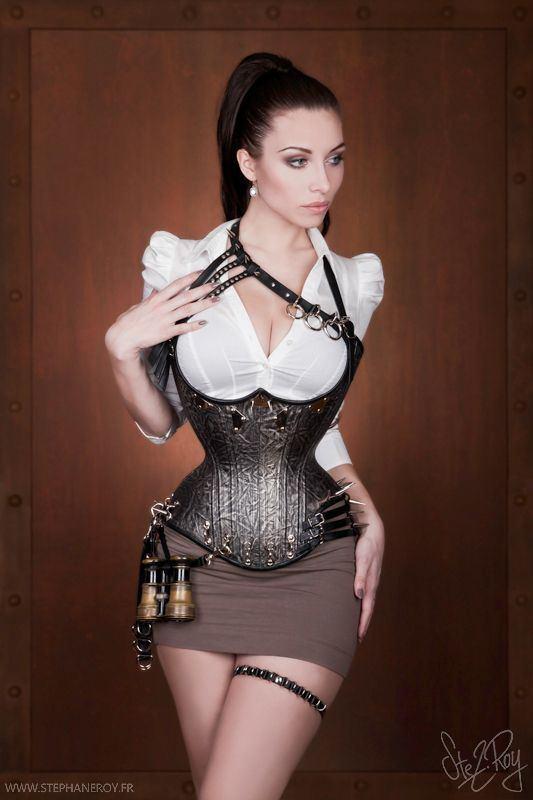 Centurion reccomend Big tit girl wearing corset