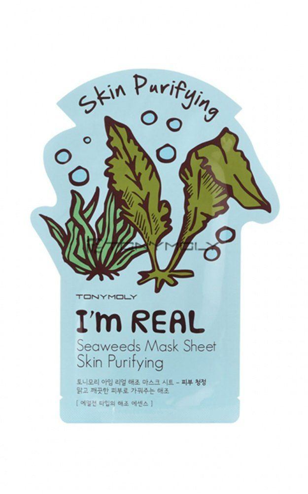 Spice reccomend Purifying seaweed facial mask