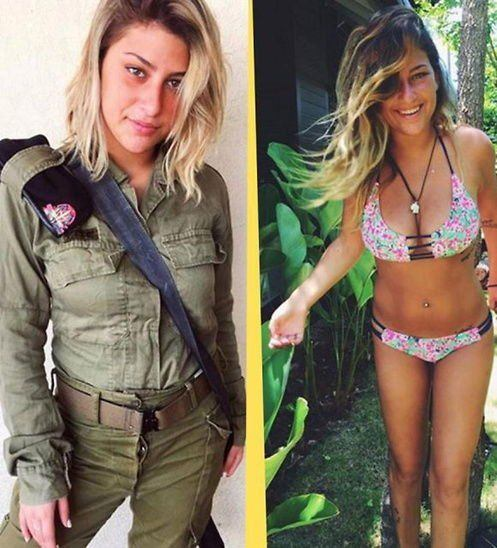 Fox reccomend Israeli female soldiers in bikinis