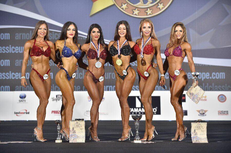 Amateur fitness contest