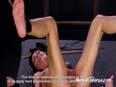 Bdsm torture whipping