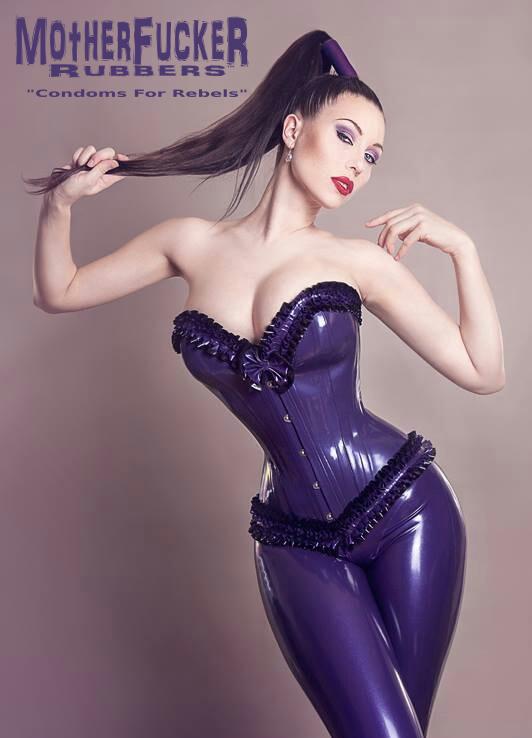 Big tit girl wearing corset