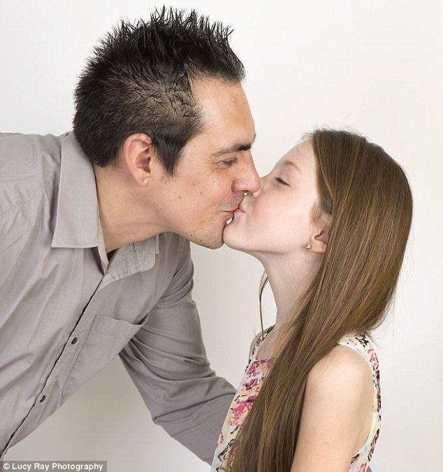 best of French Father kissing daughter