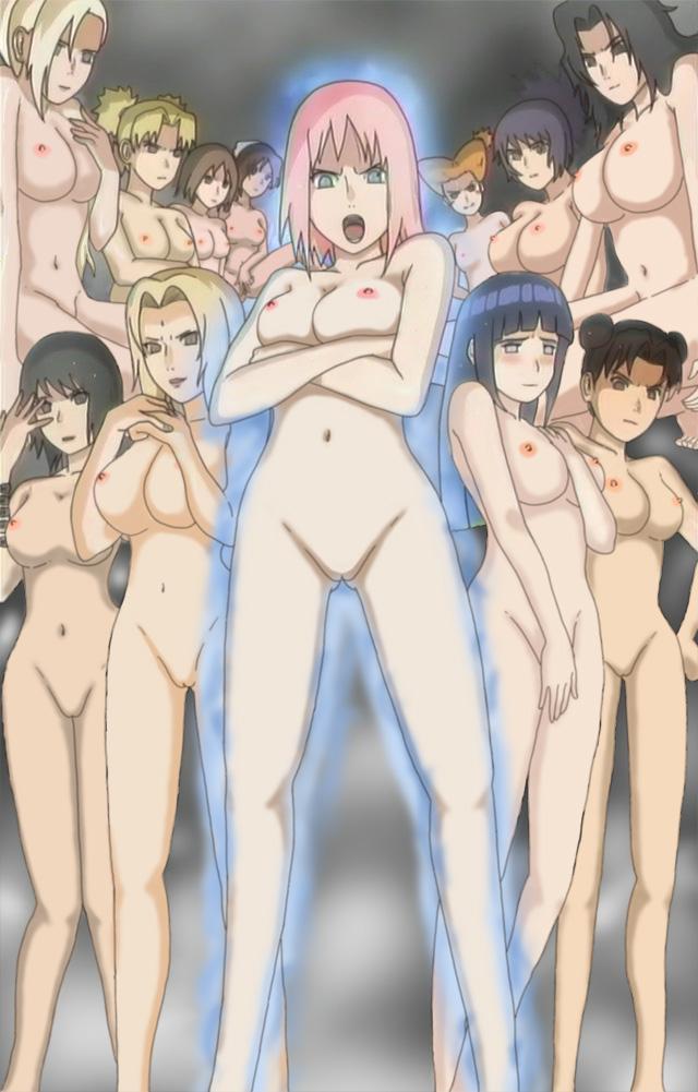 naruto girls nackt