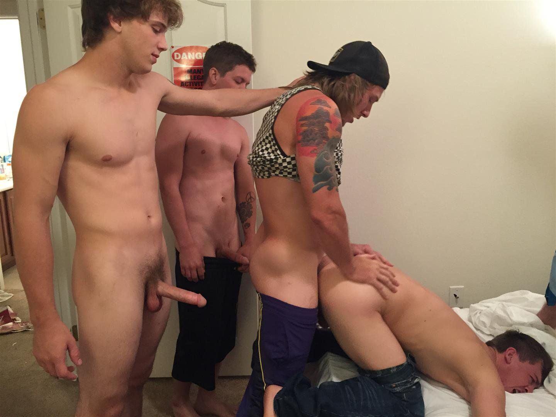 Freshman nude and having sex